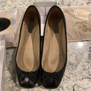 Jessica Simpson Manie Black Ballet Flat